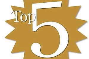 Топ 5 на най-четените статии през седмицата