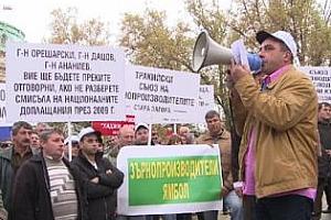 Протест на зърнопроизводителите от 18 до 22 февруари в София организира НАЗ