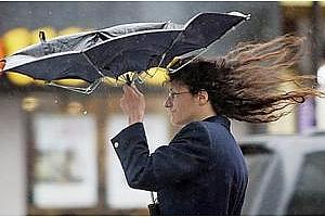 Оранжев код: Днес ще има поройни дъждове и силен вятър