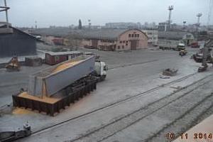 Експорт на зърно и маслодайни от пристанище Варна 13-17 март