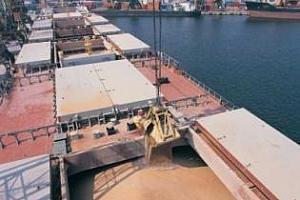 Експорт на зърно и маслодайни от пристанище Варна 8-14 април