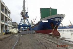 Експорт на зърно и маслодайни от пристанище Варна 21-24 юли