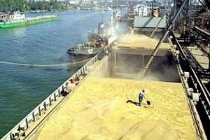 Франция: за седмица превозването на зърно през пристанището Руан е намаляло с 42%