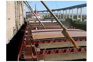 Експорт на зърно и маслодайни култури от пристанищe Варнa 18-21 януари