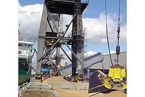 Експорт на зърно и маслодайни култури от пристанище Варна 7-13 април