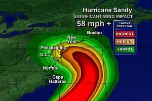 Сутрешно кафе: Борсата в Ню Йорк днес затвори заради урагана Санди